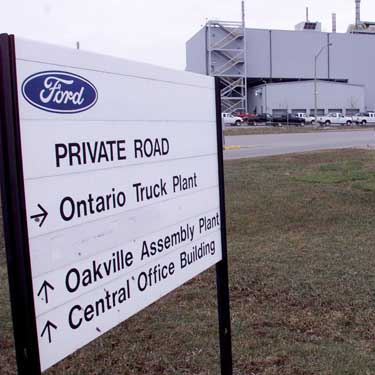 Ford assembly plant to receive $135 million in government funds