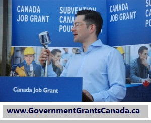 how to get a government grant in canada