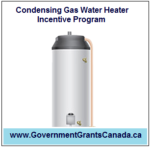 Condensing Gas Water Heater Incentive Program