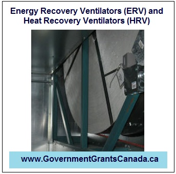 Energy Recovery Ventilators (ERV) and Heat Recovery Ventilators (HRV)