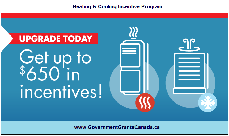 HEATING & COOLING INCENTIVE Program