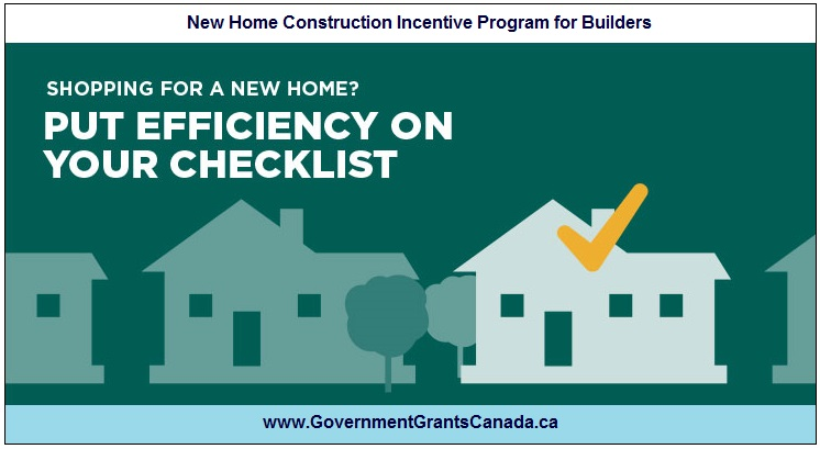 New Home Construction Incentive Program for Builders