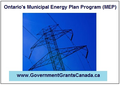 Ontario's Municipal Energy Plan Program (MEP)