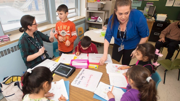 Sudden influx of refugees strains Halifax school, sparks call for federal funds