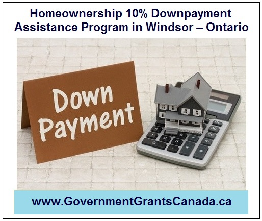 Homeownership 10% Downpayment Assistance Program in Windsor - Ontario